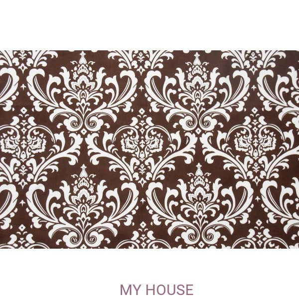 Ткань Ozbourne Village Brown