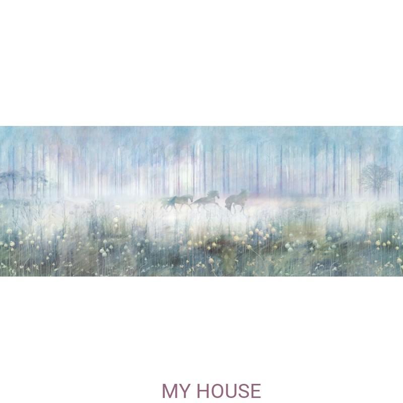 Фреска Цветариум,  Mysterius forest  Affresco