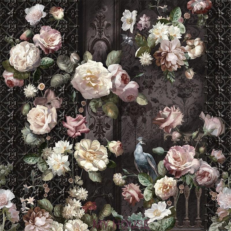 Фреска Цветариум,  Rose Affresco