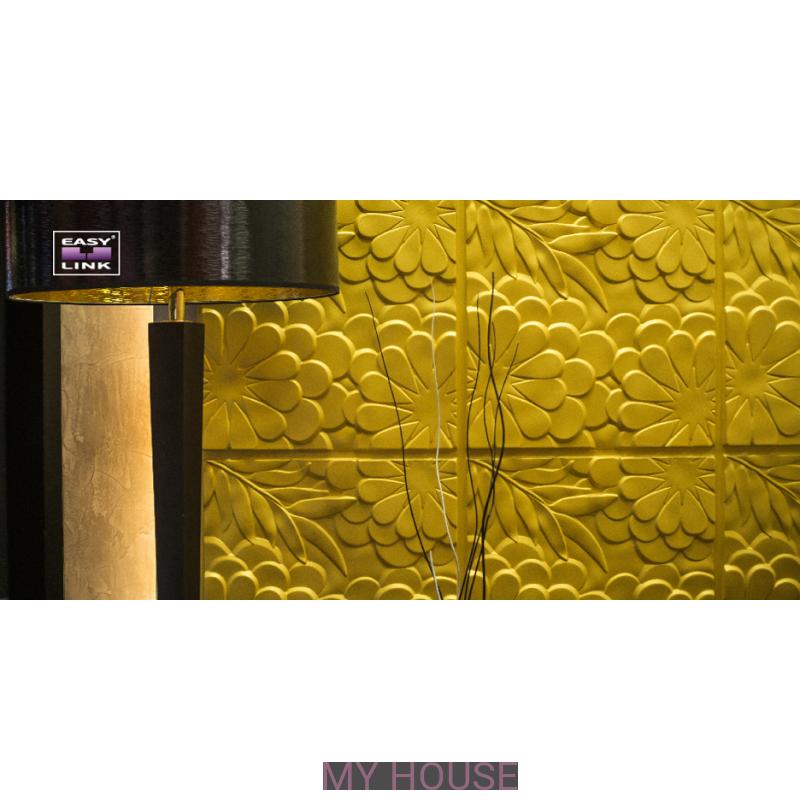 Лепнина Панно Flora артикул  M-0042 производства Artpole