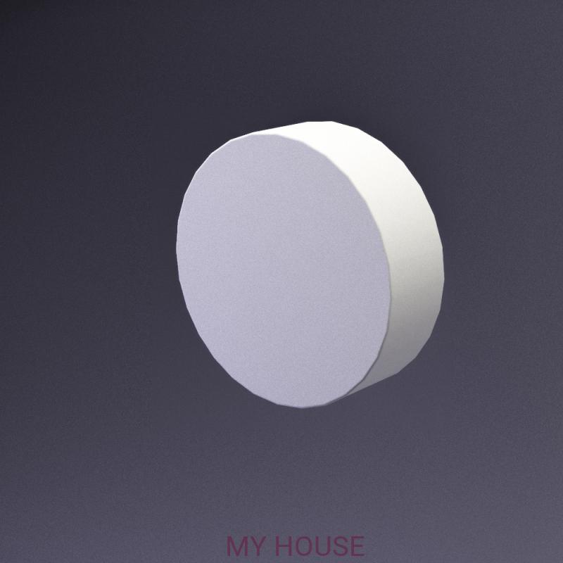 Лепнина Disk артикул E-0018 производства Artpole