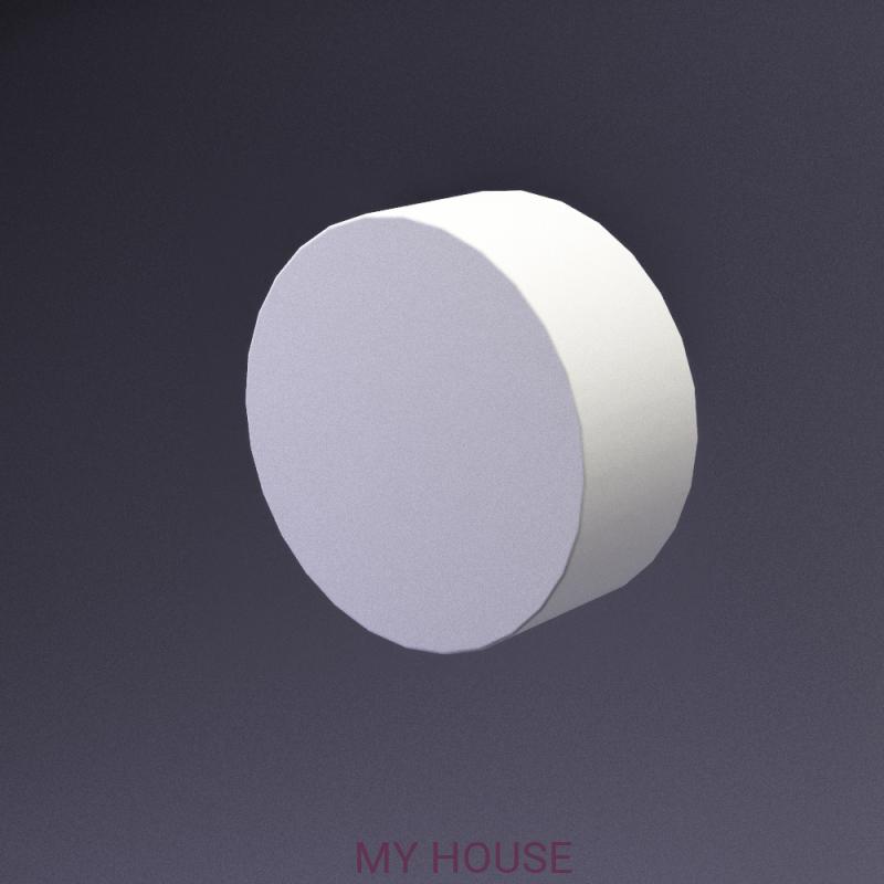 Лепнина Disk артикул E-0019 производства Artpole
