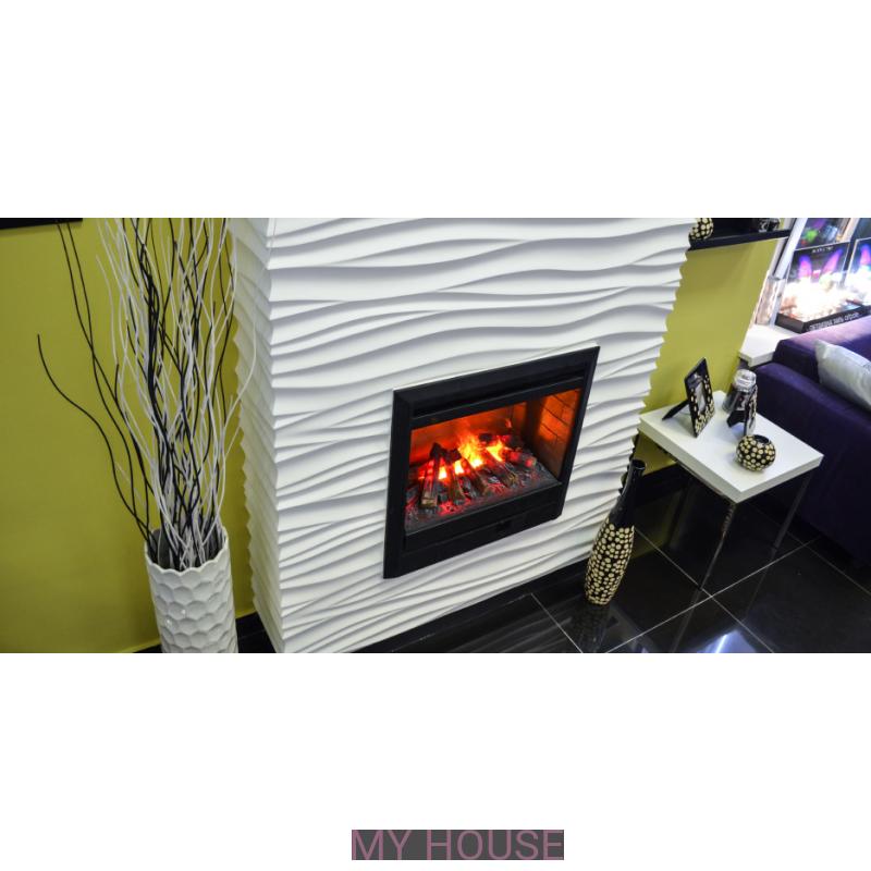 Лепнина 3D камин-портал Silk артикул 5288 производства Artpole