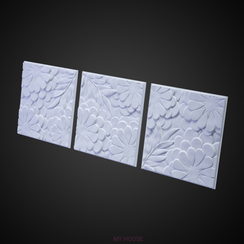 Лепнина Панно Flora M-0042 производства Artpole