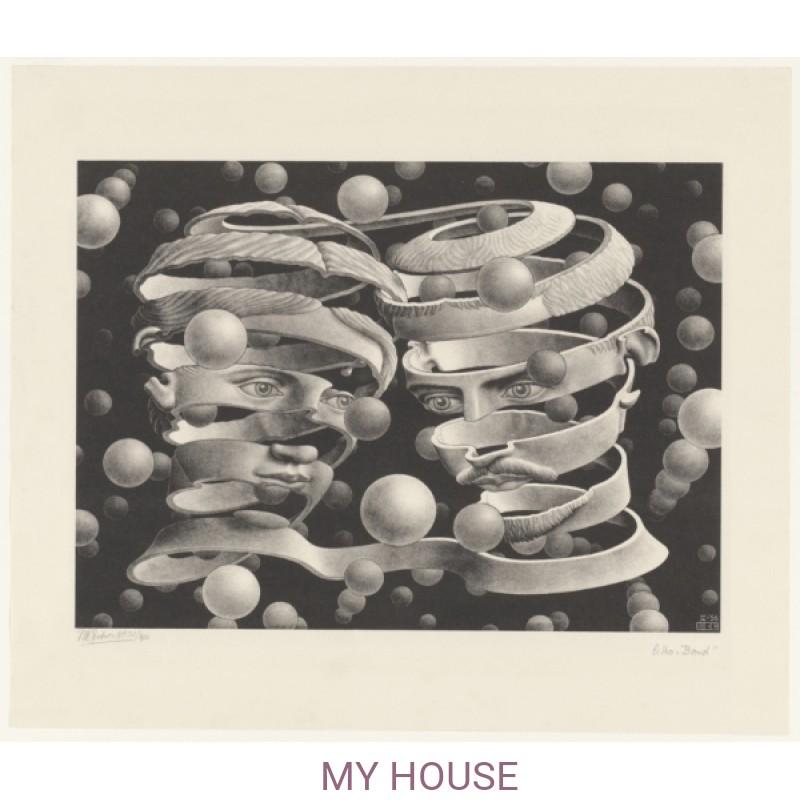 Обои M.C.Escher 23186 Jannelli & Volpi