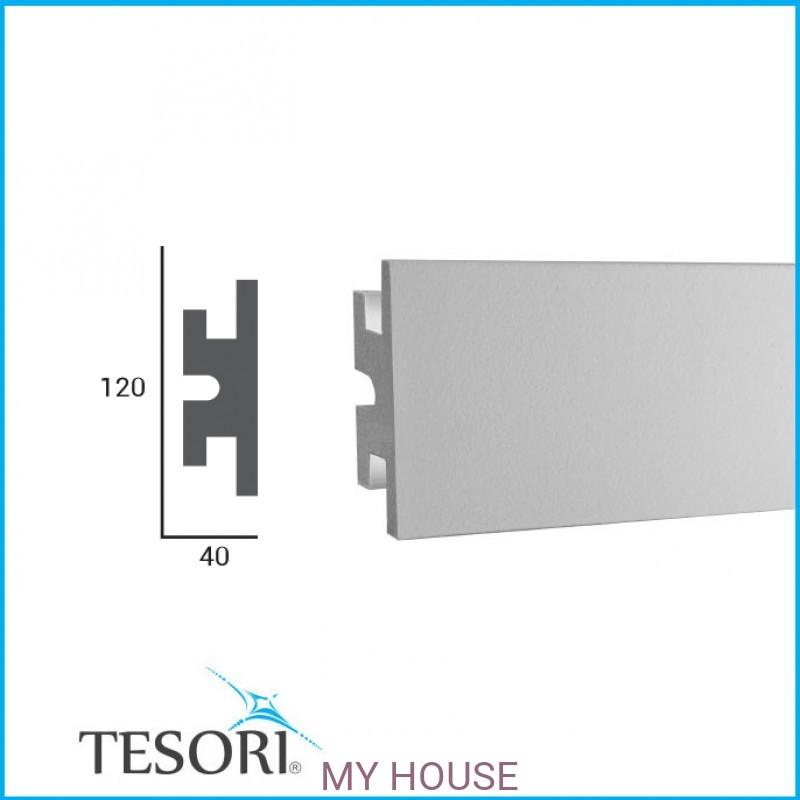Лепнина LED профили KD 302 производства TESORI