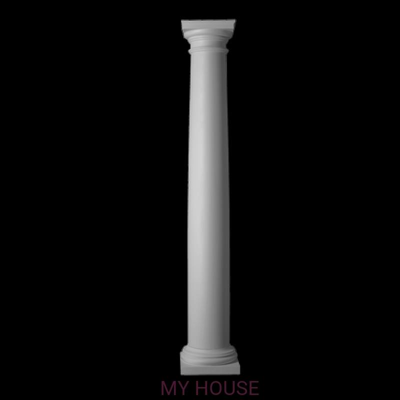 Лепнина колонны 4.30.104 производства ЕВРОПЛАСТ