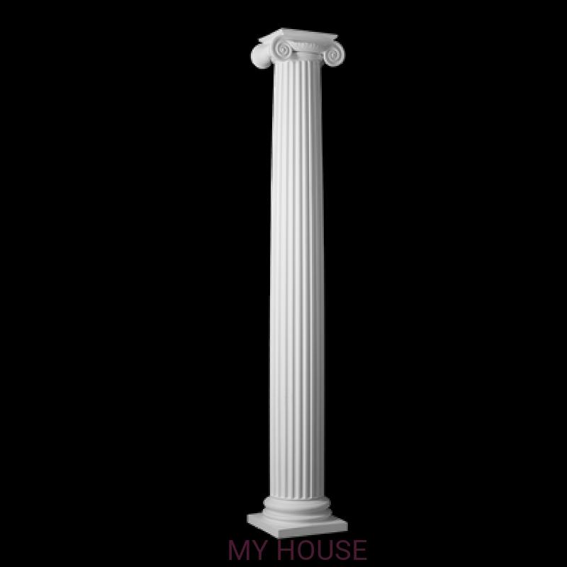 Лепнина колонны 4.30.201 производства ЕВРОПЛАСТ
