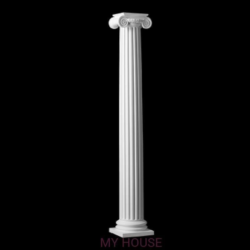 Лепнина колонны 4.30.204 производства ЕВРОПЛАСТ