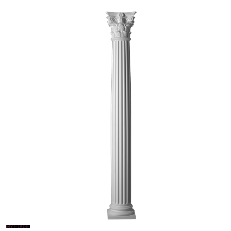 Лепнина колонны 4.30.301 производства ЕВРОПЛАСТ