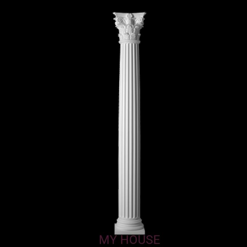 Лепнина колонны 4.30.304 производства ЕВРОПЛАСТ