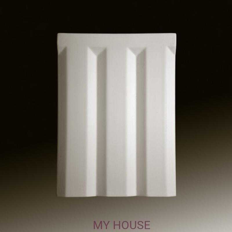 Лепнина накладные элементы 4.06.101 производства ЕВРОПЛАСТ