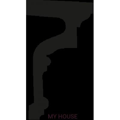 Лепнина подоконные элементы 4.82.301 производства ЕВРОПЛАСТ