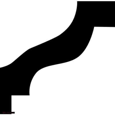 Лепнина карнизы 1.50.103.f производства ЕВРОПЛАСТ