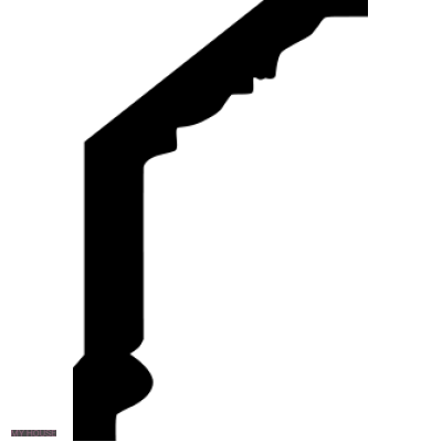 Лепнина карнизы 1.50.104.f производства ЕВРОПЛАСТ