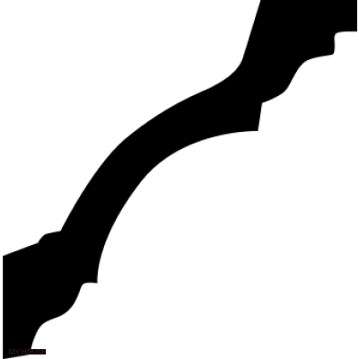 Лепнина карнизы 1.50.113.f производства ЕВРОПЛАСТ