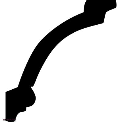 Лепнина карнизы 1.50.125.f производства ЕВРОПЛАСТ