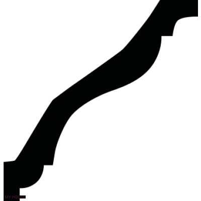 Лепнина карнизы 1.50.133.f производства ЕВРОПЛАСТ