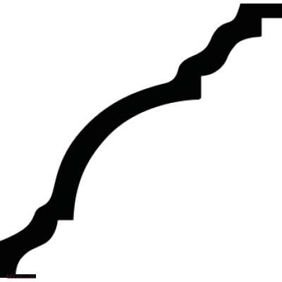 Лепнина карнизы 1.50.148.f производства ЕВРОПЛАСТ