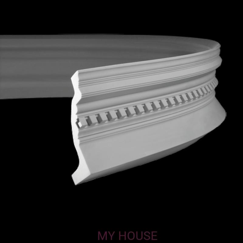 Лепнина карнизы 1.50.153.f производства ЕВРОПЛАСТ