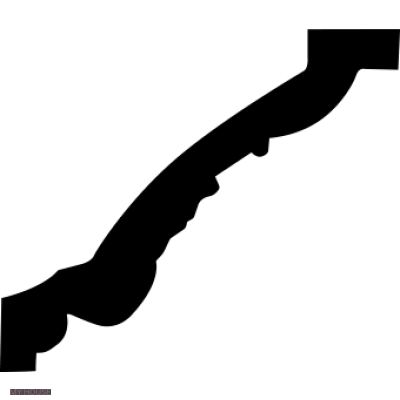 Лепнина карнизы 1.50.198.f производства ЕВРОПЛАСТ