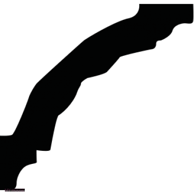 Лепнина карнизы 1.50.205.f производства ЕВРОПЛАСТ