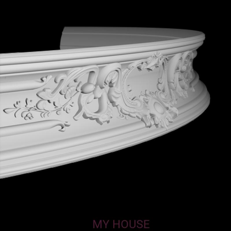 Лепнина карнизы 1.50.252.f производства ЕВРОПЛАСТ