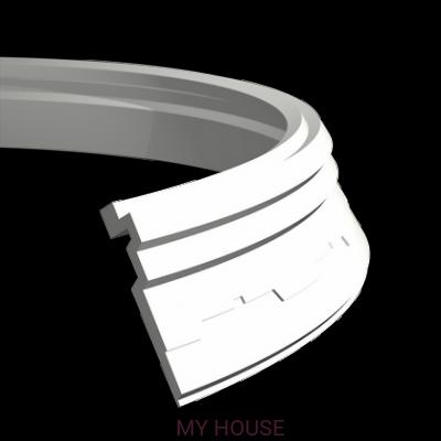 Лепнина карнизы 1.50.267.f производства ЕВРОПЛАСТ