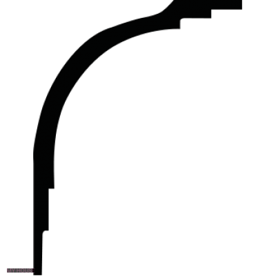 Лепнина карнизы 1.50.271.f производства ЕВРОПЛАСТ