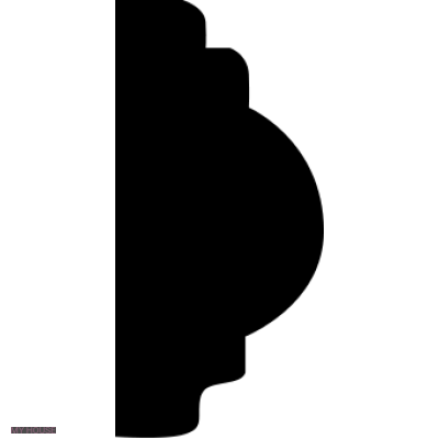 Лепнина молдинги 1.51.322.f производства ЕВРОПЛАСТ