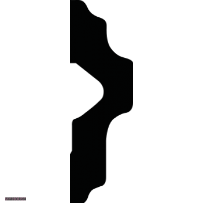Лепнина молдинги 1.51.341.f производства ЕВРОПЛАСТ