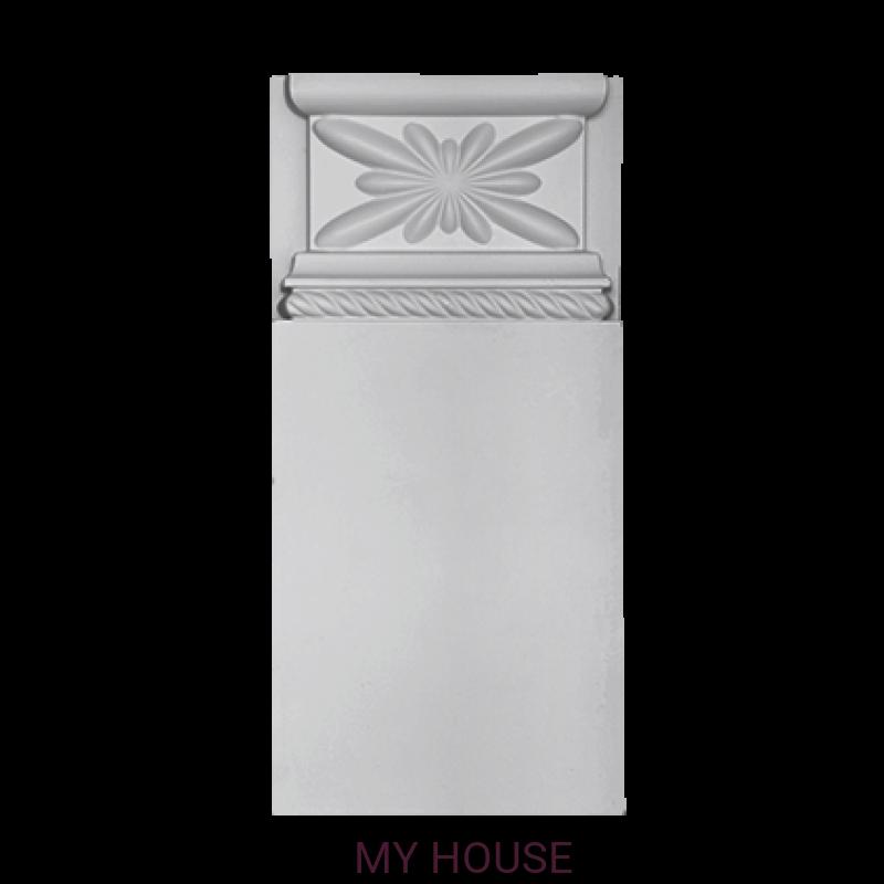 Лепнина обрамление дверей 1.54.030.2 производства ЕВРОПЛАСТ