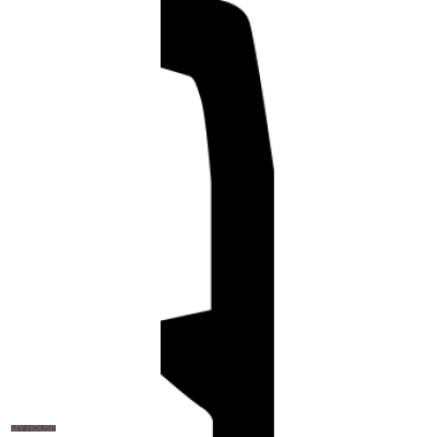 Лепнина плинтусы 1.53.106 производства ЕВРОПЛАСТ