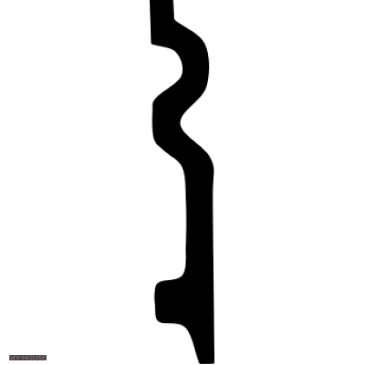 Лепнина плинтусы 1.53.109.f производства ЕВРОПЛАСТ