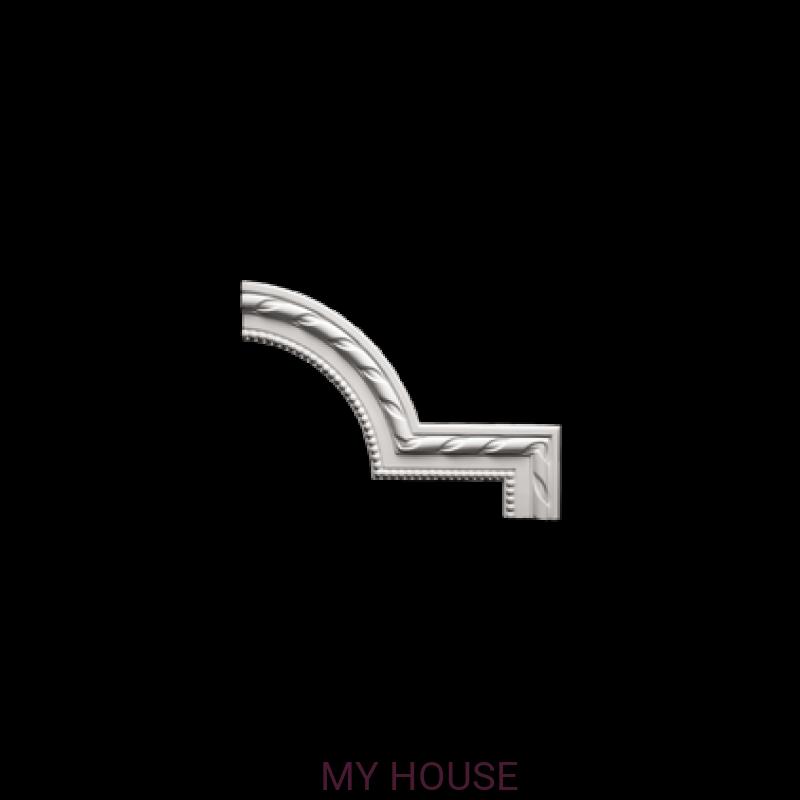 Лепнина угловые элементы 1.52.296 производства ЕВРОПЛАСТ