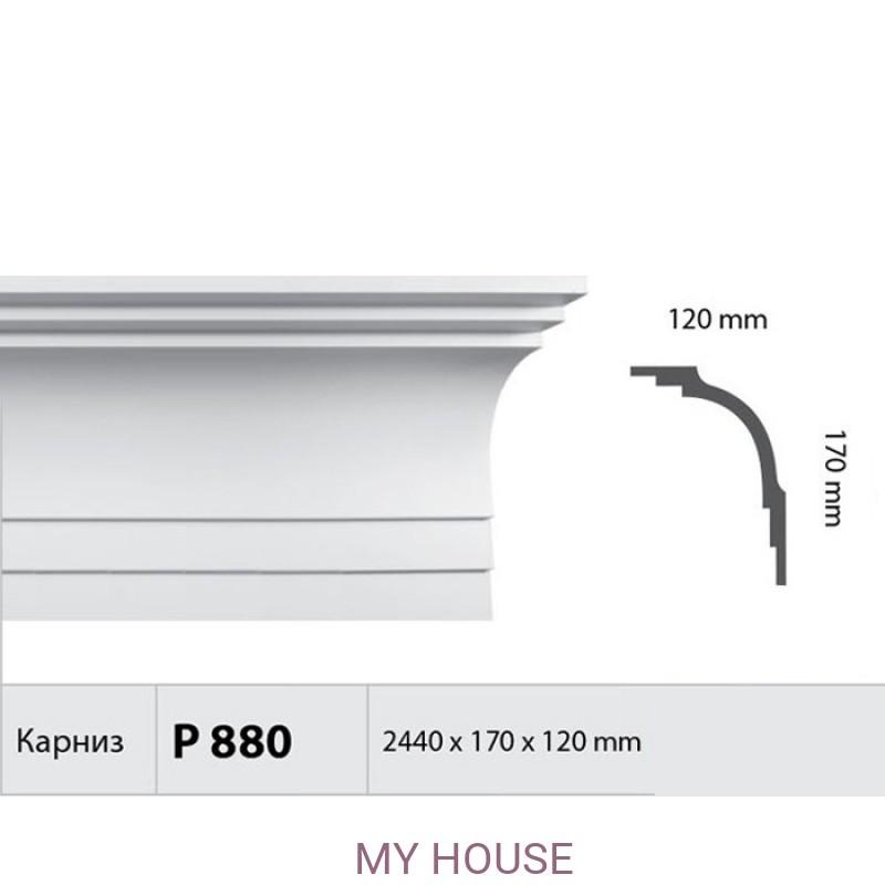 Лепнина Карнизы P 880 производства Fabello Decor