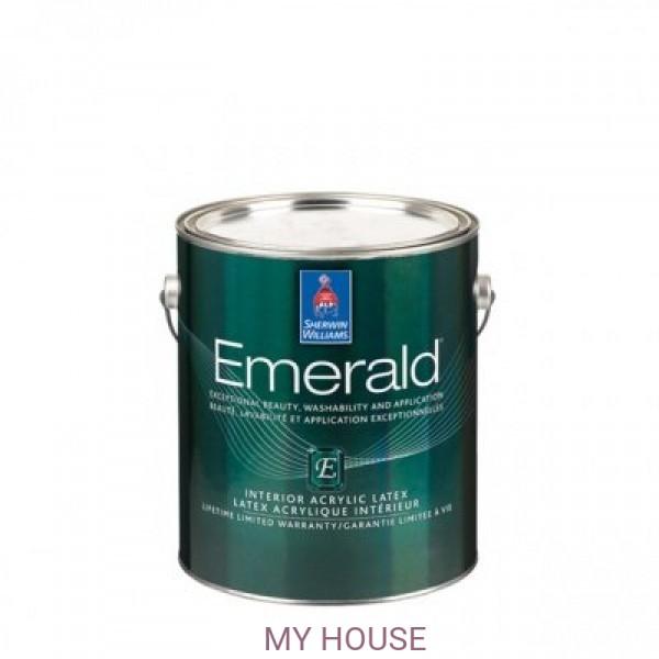Глубокоматовая краска для внутренних работ Emerald Interior Flat кварта (0,95л)