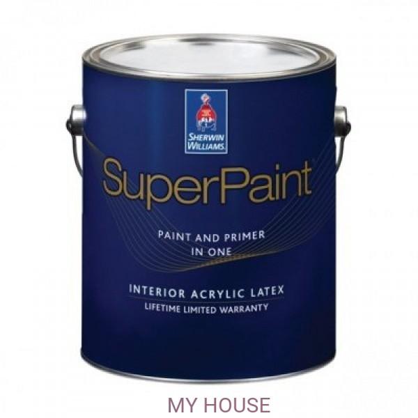 Суперматовая интерьерная краска для стен Super Paint Flat галлон (3,8л)