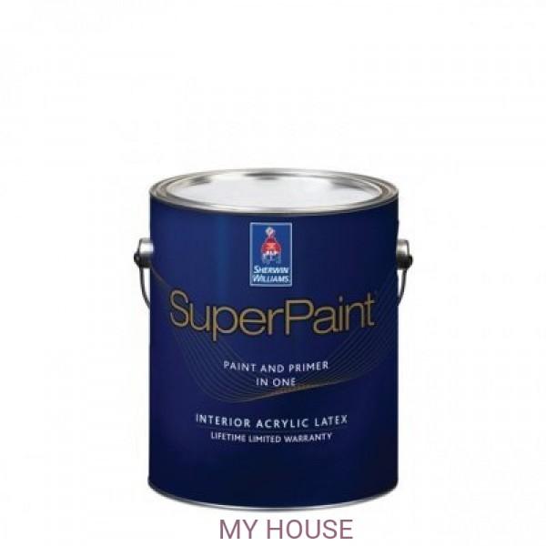 Суперматовая интерьерная краска для стен Super Paint Flat, кварта (0,95 л)