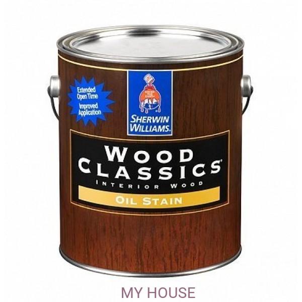 Пропитка по дереву для мебели и пола Wood Classic Stain 3,8л