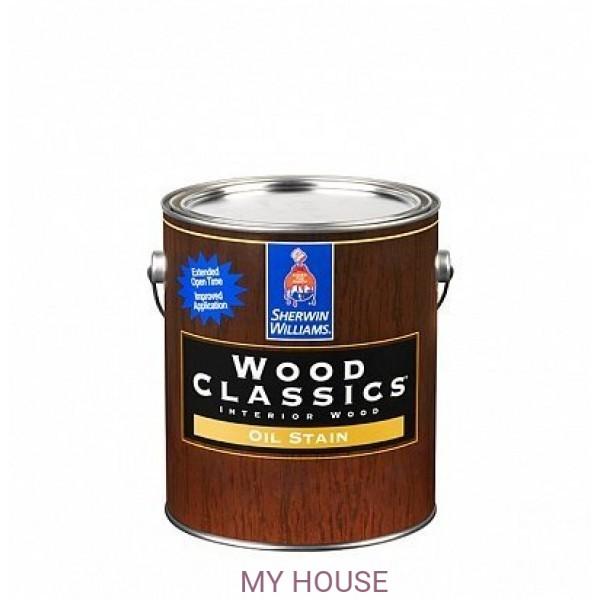 Пропитка по дереву для мебели и пола Wood Classic Stain 0,95л