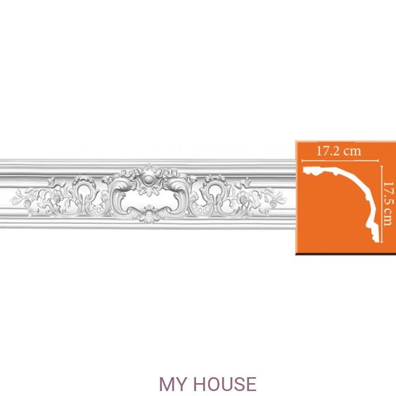 Лепнина Потолочные профили комбинированные,с литыми углами DP 41 производства Decomaster