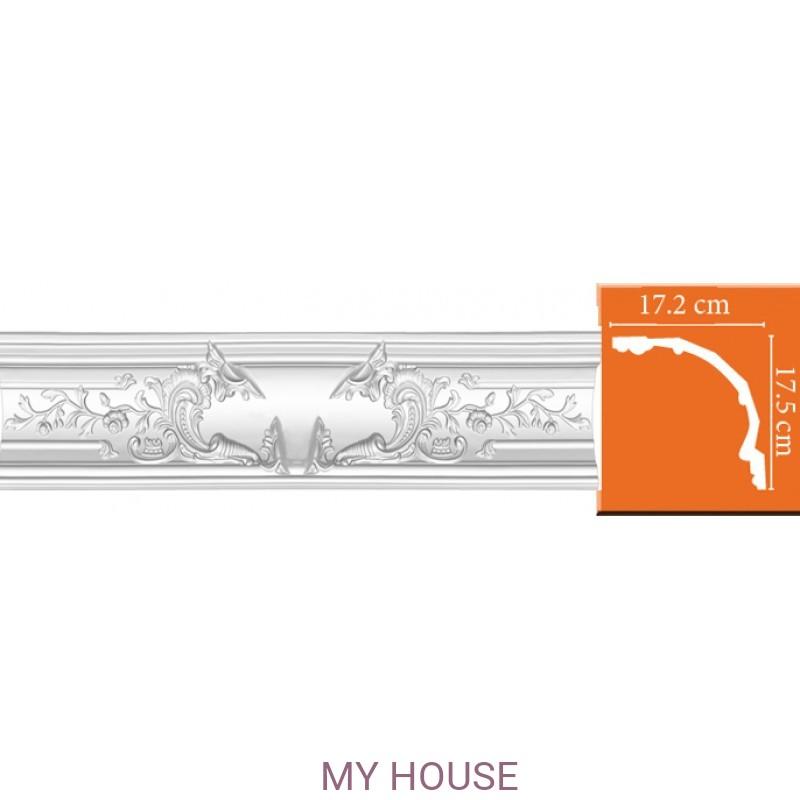 Лепнина Потолочные профили комбинированные,с литыми углами DP 42 производства Decomaster