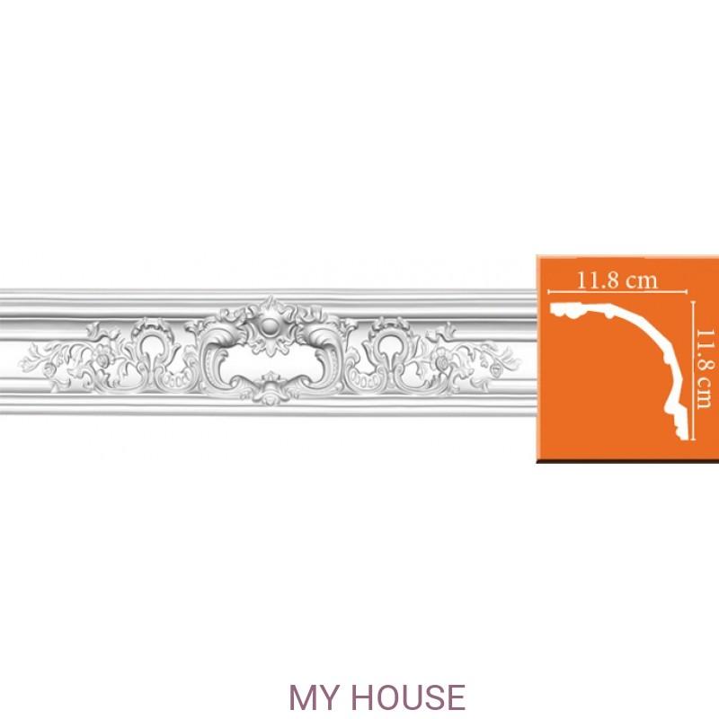 Лепнина Потолочные профили комбинированные,с литыми углами DP 52 производства Decomaster