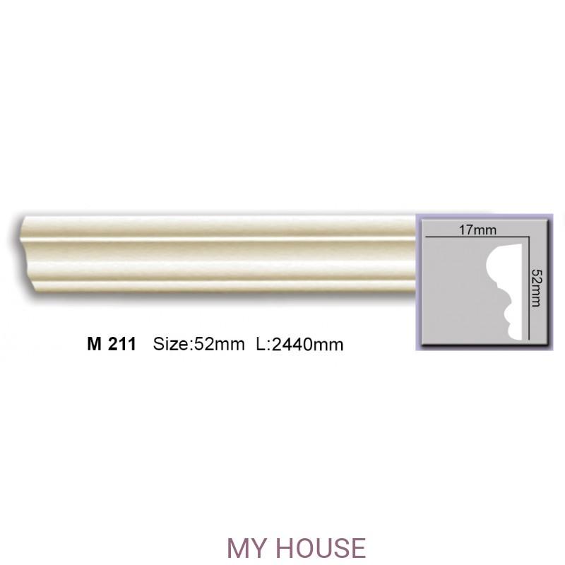 Лепнина Молдинги M 211 производства Harmony
