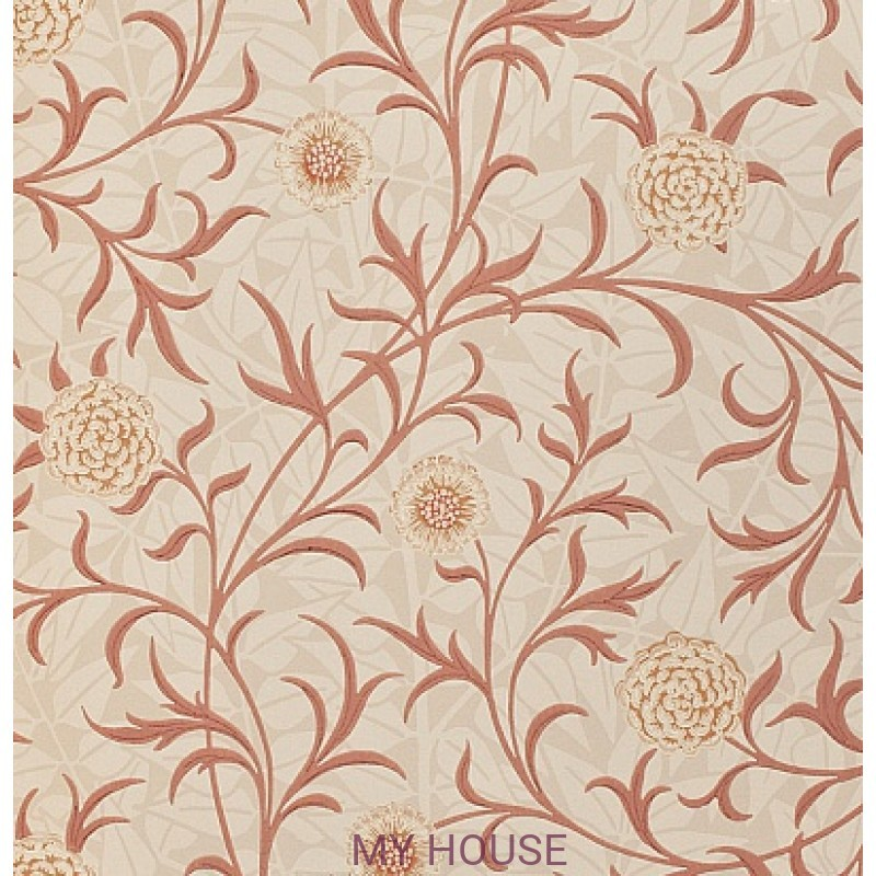 Обои Morris Archive Wallpapers 210364 Scroll Morris&Co