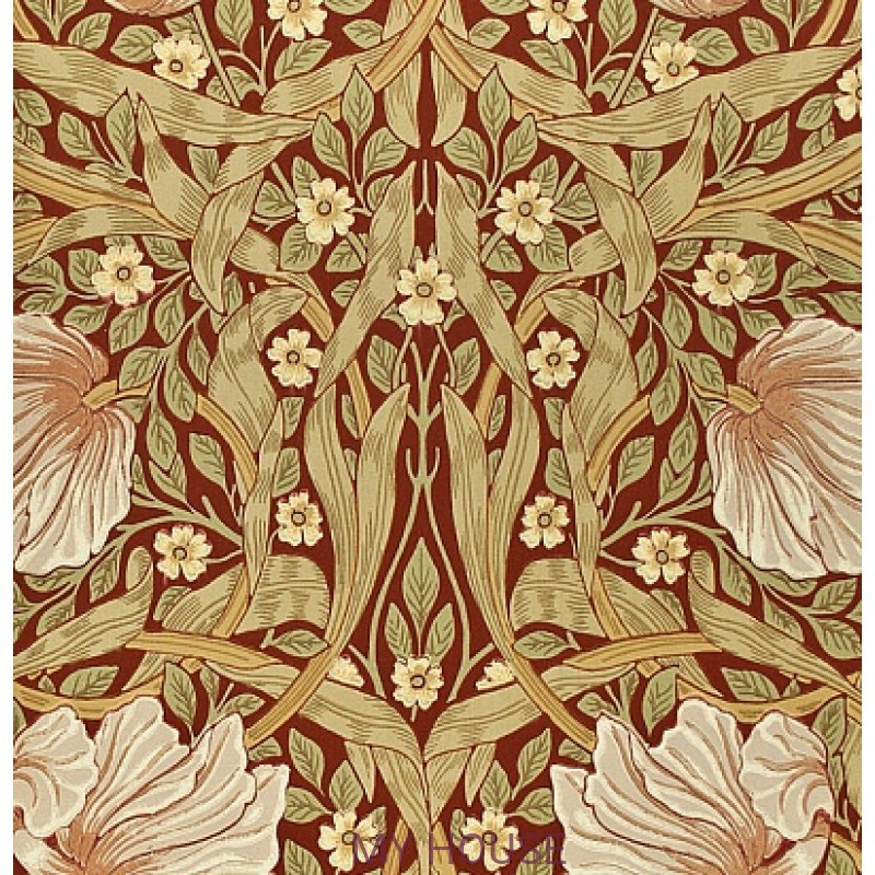 Обои Morris Archive Wallpapers 210386 Pimpernel Morris&Co
