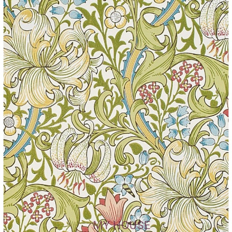 Обои Morris Archive Wallpapers 210398 Golden Lily Morris&Co