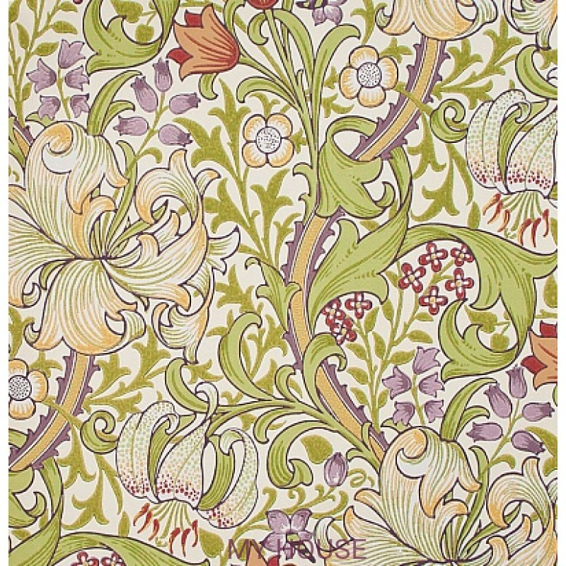 Обои Morris Archive Wallpapers 210399 Golden Lily Morris&Co