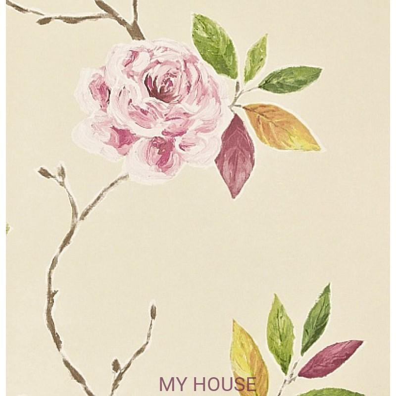 Обои Bloomsbury 211072 Ottoline Rose/Moss Sanderson